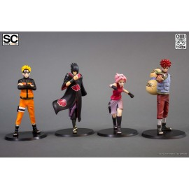 Naruto Shippuden - Pack 4 Standing Characters By Tsume