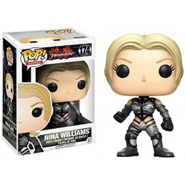 Tekken - Nina Williams Silver Suit Exclusive Pop 10cm