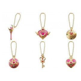 Sailor Moon - Pack de 6 pendentifs Diecast
