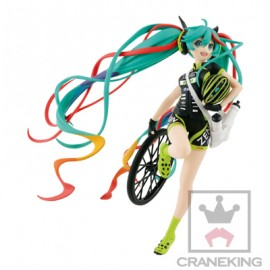 Figurine Hatsune Miku Gt Project - Hatsune Miku Racing Cycling SQ Version 17cm