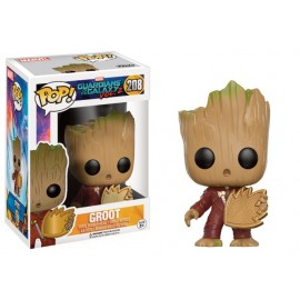 Guardians of the Galaxy Vol. 2 - Baby Groot with Ravager Patch Exclusive Pop 10cm