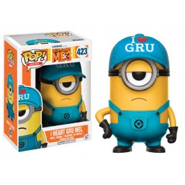 Moi Moche et Méchant 3 - I heart Gru Mel Exclusive Pop 10cm