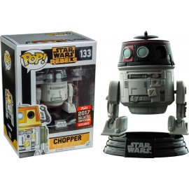 Figurine Star Wars Rebels - Chopper Imperial Disguise Galactic Convention 2017 Pop 10cm