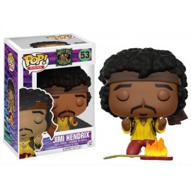 Figurine Rocks - Jimi Hendrix Monterey Exclusive Pop 10cm