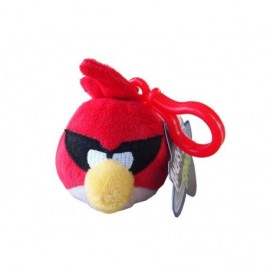 Peluche Clip On Angry Birds Space Rouge 6cm