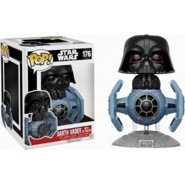 Figurine Star Wars - Darth Vader With Tie Fighter Exclusive Pop 15cm