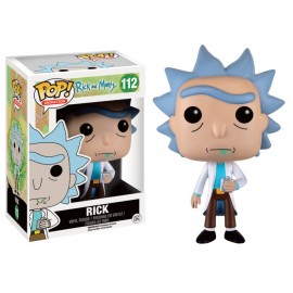 Figurine Rick and Morty - Rick Pop 10cm