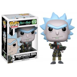 Figurine Rick and Morty - Weaponized Rick Pop 10cm