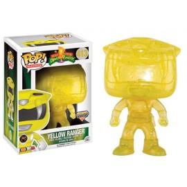 Figurine Power Rangers - Yellow Ranger Morphing Exclusive Pop 10 cm