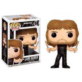 Figurine Metallica - Lars Ulrich Pop 10cm