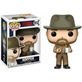 Stranger Things - Hopper with Donut Pop 10 cm