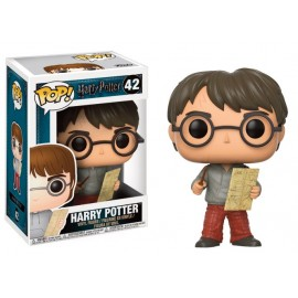 Figurine Harry Potter - Harry Potter With Marauders Map Pop 10cm