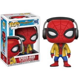 Spider-Man Homecoming - Spider-Man with headphones Pop 10cm