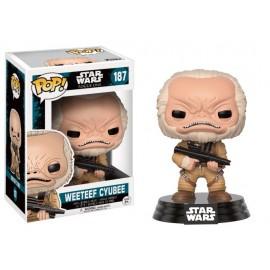 Figurine Star Wars - Rogue One - Weeteef Cyubee Pop 10cm