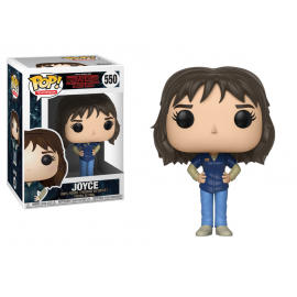 Stranger Things - Joyce Blue shirt Pop 10 cm