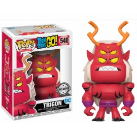 Figurine Teen Titans Go ! - Trigon Exclusive Pop 10cm