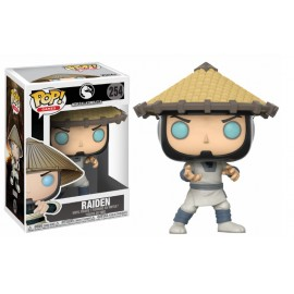 Figurine Mortal Kombat X - Raiden Pop 10cm