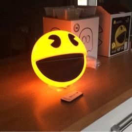 Lampe PAC-MAN - Lampe télécommandée & sonore PAC-MAN