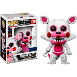 Figurine Five Nights at Freddy's - Funtime Foxy Flocked Exclusive Pop 10cm