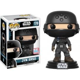 Figurine Star Wars - Rogue One - Jyn Erso Fall Convention 2017 Pop 10cm