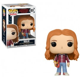 Figurine Stranger Things - Max with Skate Deck Pop 10 cm
