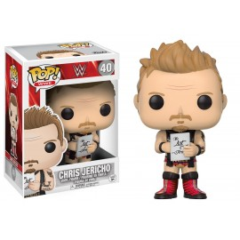 Figurine WWE - Chris Jericho Pop 10 cm
