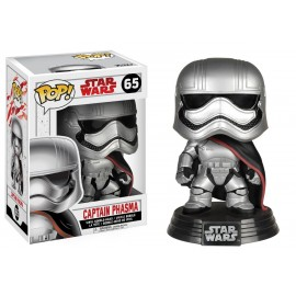 Figurine Star Wars episode 8 - Captain Phasma Pop 10cm
