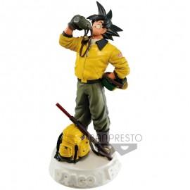 Figurine Dragon Ball - Scultures Son Gokou Navy Color Version 19cm