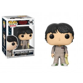 Figurine Stranger Things - Mike Ghostbuster Pop 10 cm