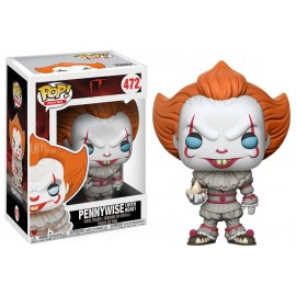 Figurine It / Ca - Pennywise with Boat Pop 10cm