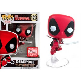 Figurine Marvel - Leaping Deadpool Marvel Corps Exclusive Pop 10cm
