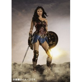 Figurine DC Comics - Justice League - Wonder Woman S.H.Figuarts 14 cm