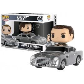 Figurine James Bond 007 - Sean Connery & Aston Martin Rides ! Pop 15cm