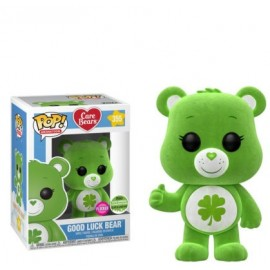 Figurine Care Bears/Bisounours - Good Luck Bear Flocked ECCC 2018 Pop 10cm