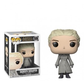 Figurine Game Of Thrones - Daenerys Targaryen (White Coat) Pop 10cm