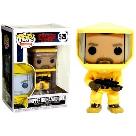 Figurine Stranger Things - Hopper Biohazard Suit Exclusive Pop 10 cm