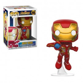 Figurine Marvel - Avengers Infinity War - Iron Man Pop 10cm