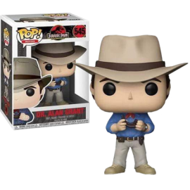 Figurine Jurassic Park - Dr. Alan Grant Pop 10cm