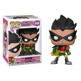 Figurine Dc Comics - Teen Titans Go ! TNBTS - Robin Pop 10cm