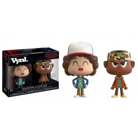 Figurine Stranger Things - 2Pack Dustin & Lucas Vynl 10cm