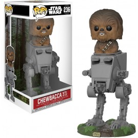 Figurine Star Wars - Chewbacca with AT-ST Pop 24cm