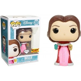 Figurine - Beauty and the Beast - Winter Belle With Birds Glitter Exclusive Pop 10cm
