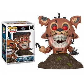 Figurine Five Nights at Freddy's - Twisted Foxy Pop 10cm