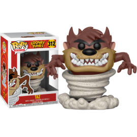Figurine Looney Tunes - Tornado Taz Pop 10 cm