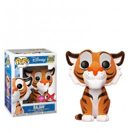 Figurine Disney Aladdin - Rajah Flocked Exclusive Pop 10cm