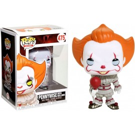 Figurine It / Ca - Pennywise with Balloon Exclusive Pop 10cm