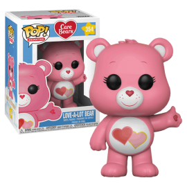 Figurine Care Bears/Bisounours - Love-A-Lot Bear Pop 10cm