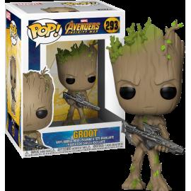 Figurine Marvel - Avengers Infinity War - Groot Pop 10cm