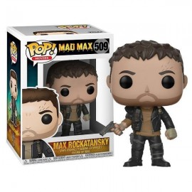 Figurine Mad Max Fury Road - Max Rockatansky with Gun Pop 10cm