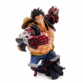 Figurine One Piece - Scultures SPECIAL COLOR Big Champion 2014 Gear Four Monkey.D.Luffy